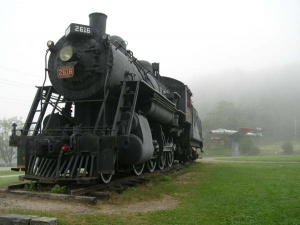Haliburton Historic Locomotive