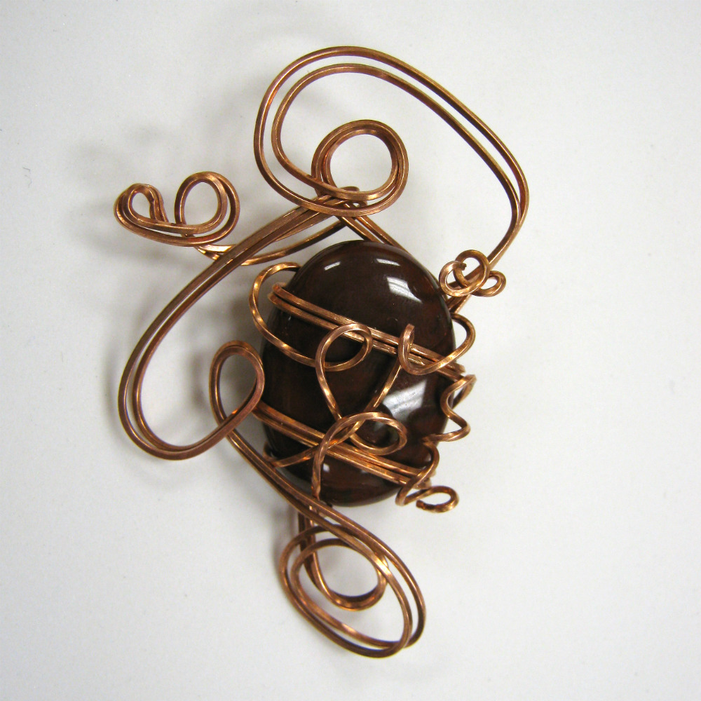 Bree Hoppe - Wire Sculpted Pendant (2011)