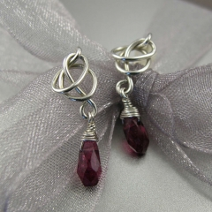 YOJ09-40 Knotted Tourmaline Earrings (2009)
